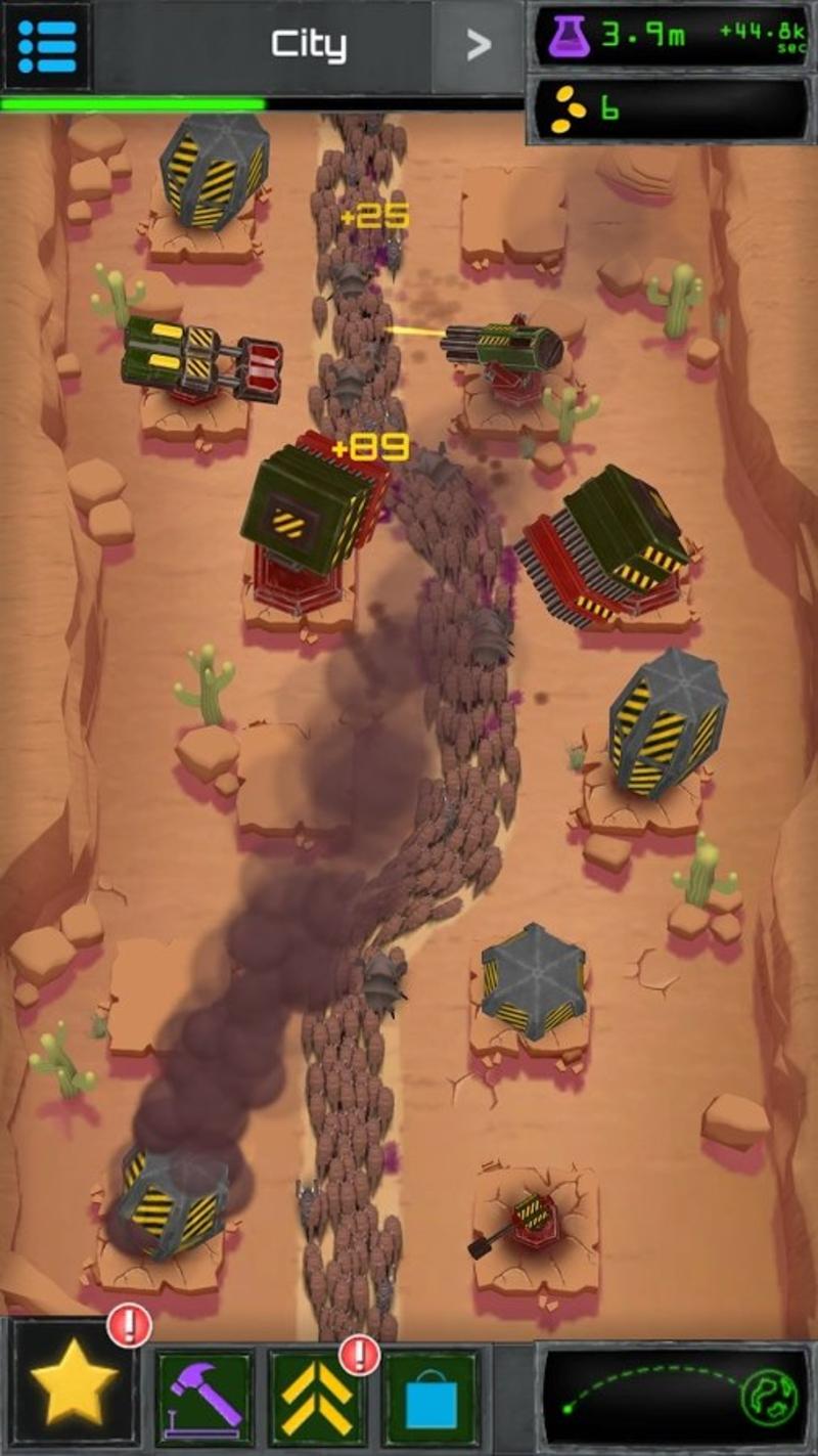 炮塔融合闲置游戏