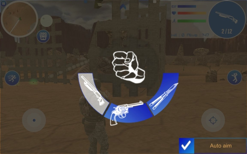沙漠战场游戏截图
