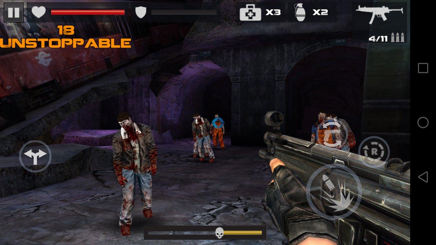 僵尸残杀游戏截图