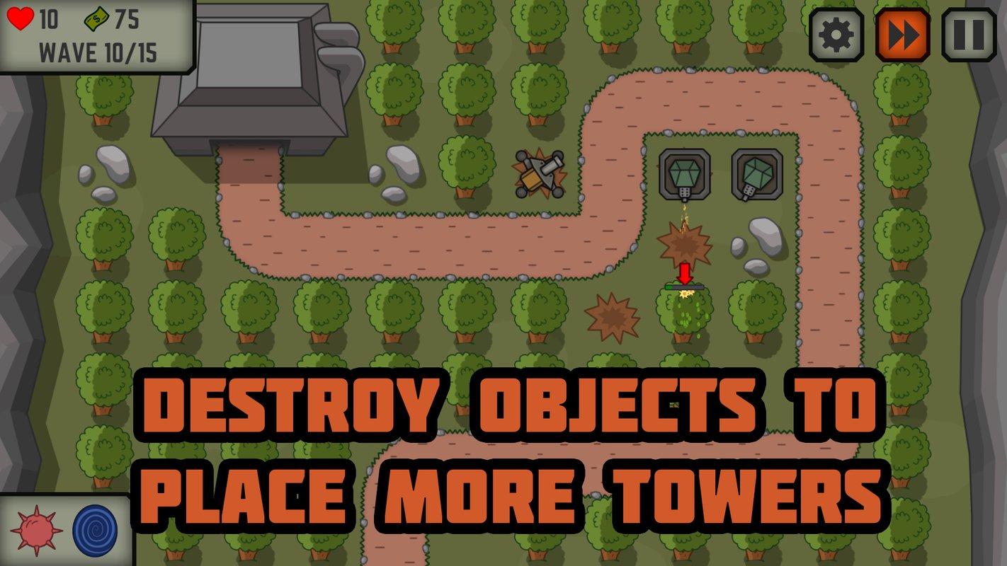 战术五:塔防游戏