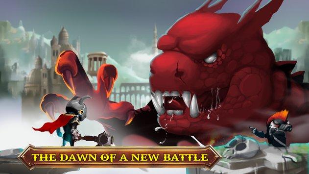 动物之间的生存斗争,疯狂的骑士是最后的骑士在这部史诗英雄的战斗