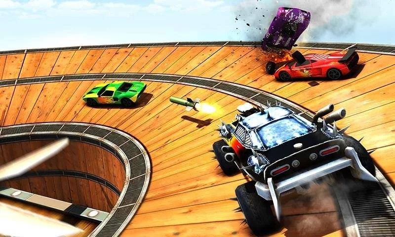 汽车对决游戏截图