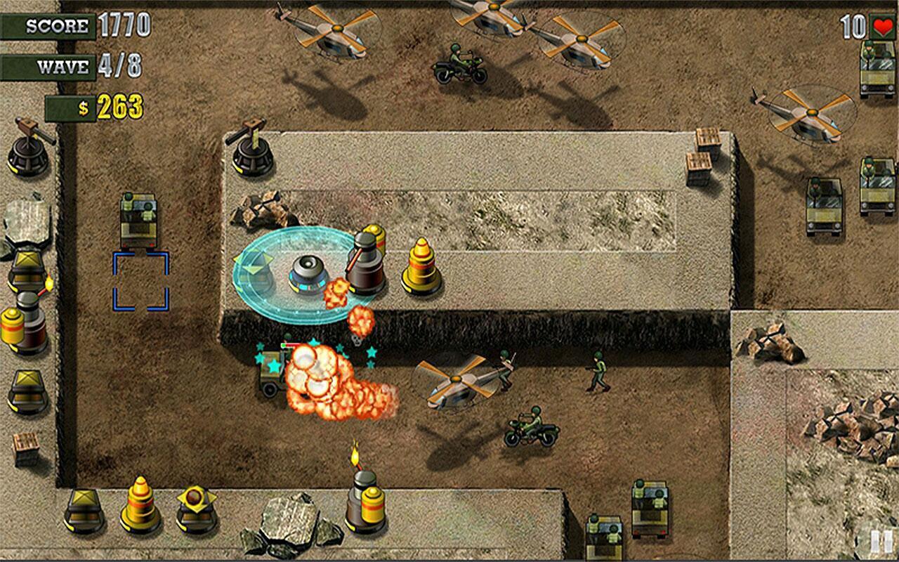 防御沙坑游戏截图