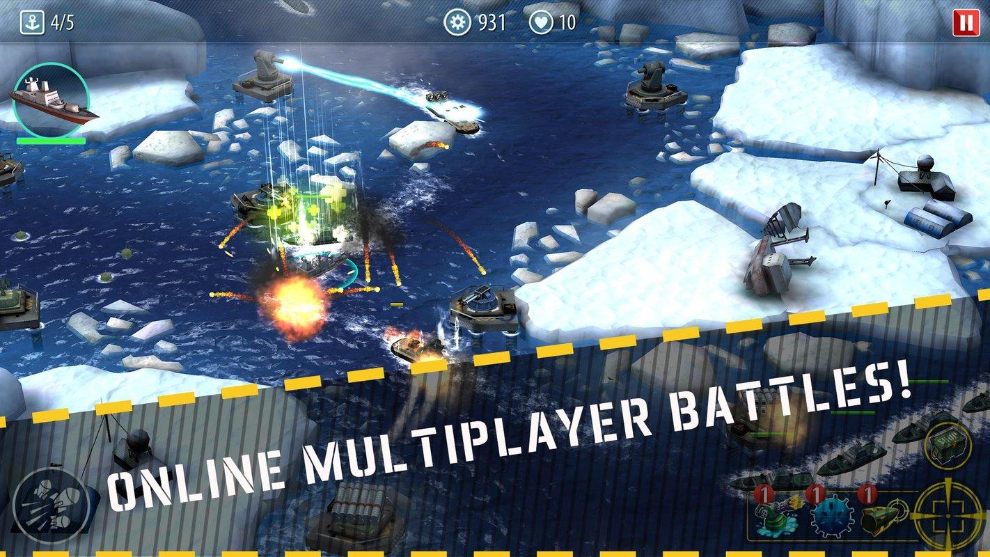 军舰猛攻:海域防御