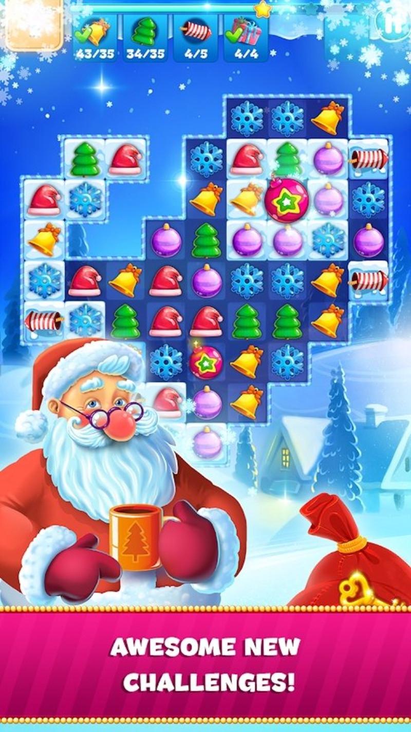 圣诞节消除3