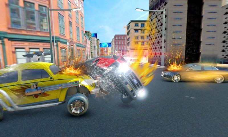 迷你汽车追逐:赛车战争游戏