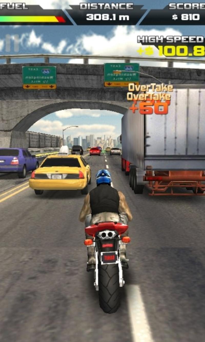 摩托车竞速