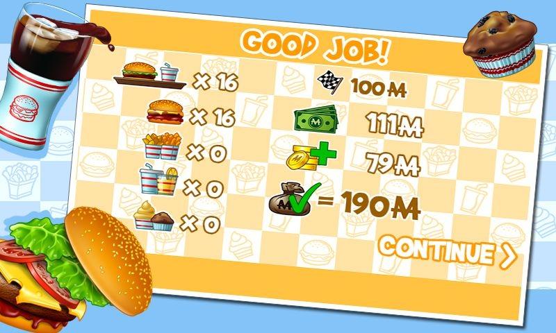 汉堡游戏截图