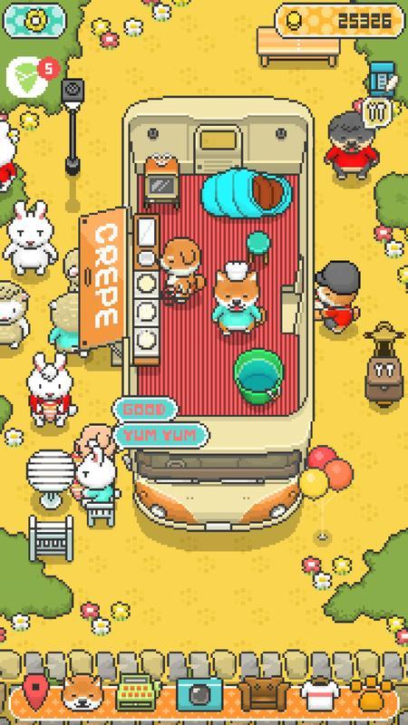 小狗餐车:烹饪厨师