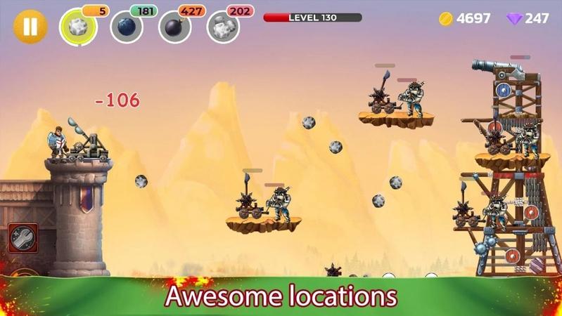 投石战争:城堡塔防