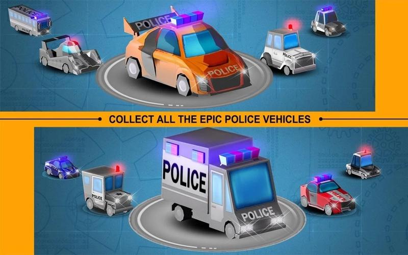 像素警察追击