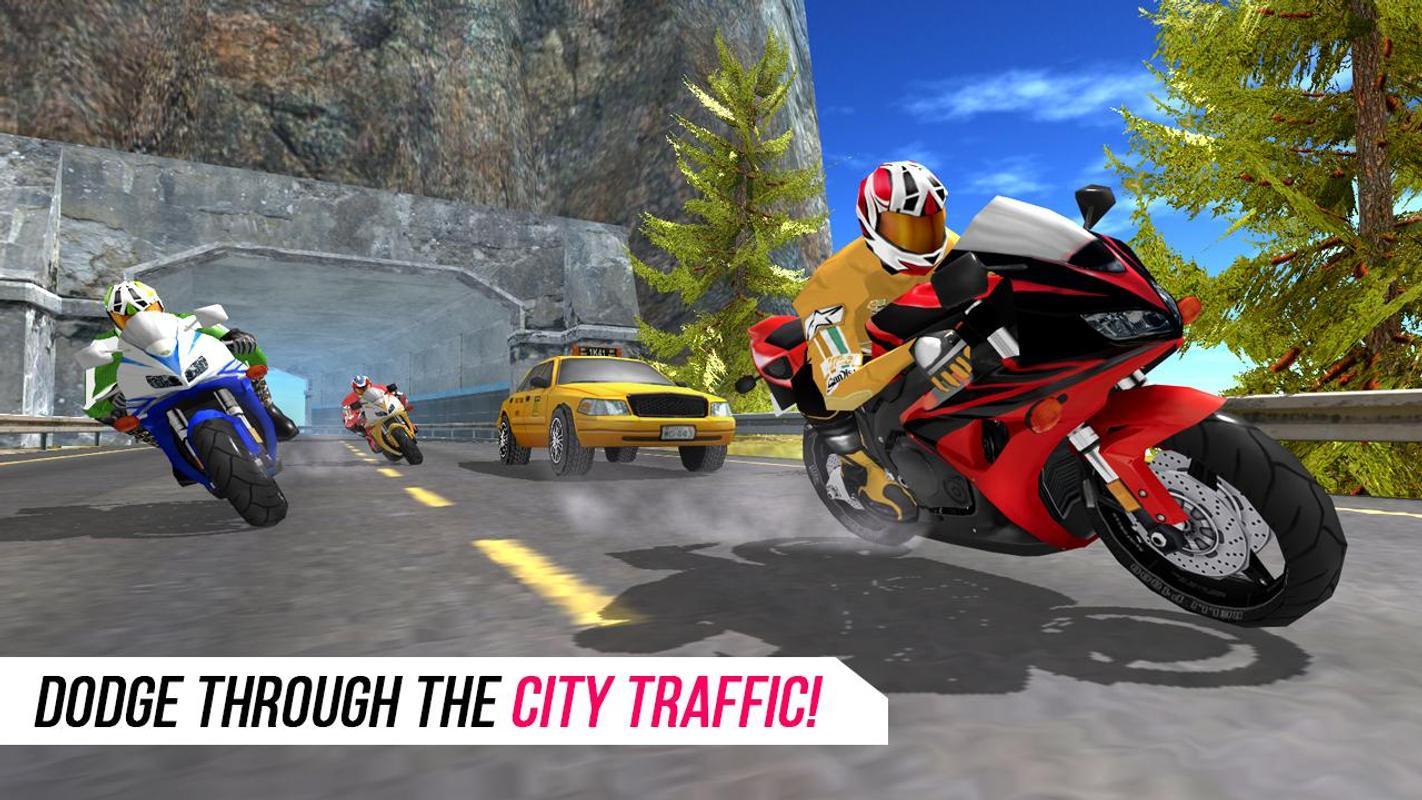 城市摩托竞赛