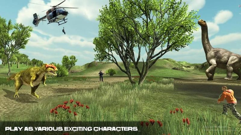 恐龙追捕游戏截图