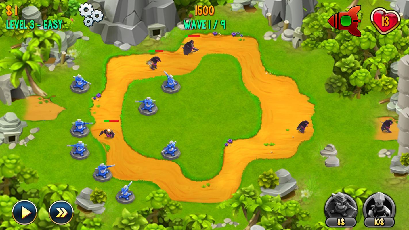 防御地带:史诗战斗