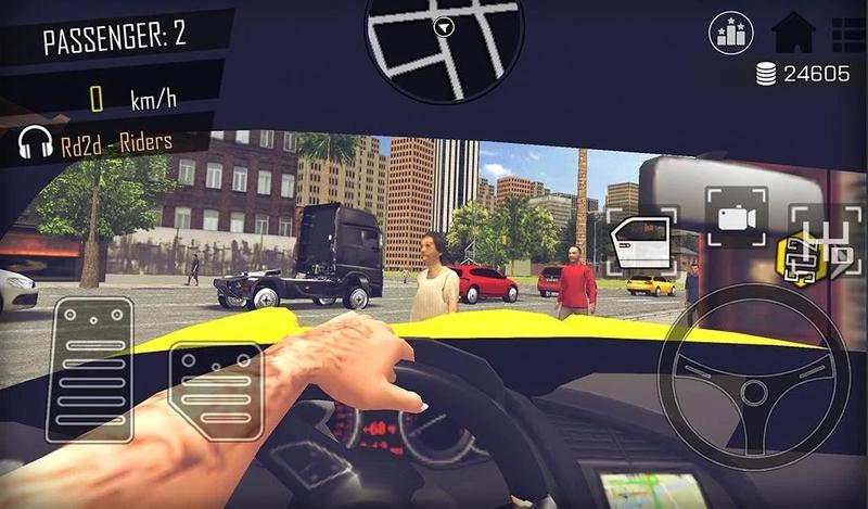 开放世界:模拟计程车