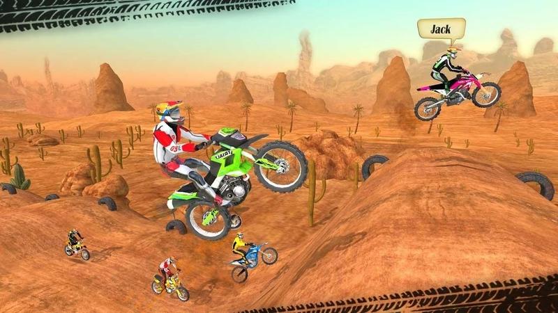 摩托车越野赛