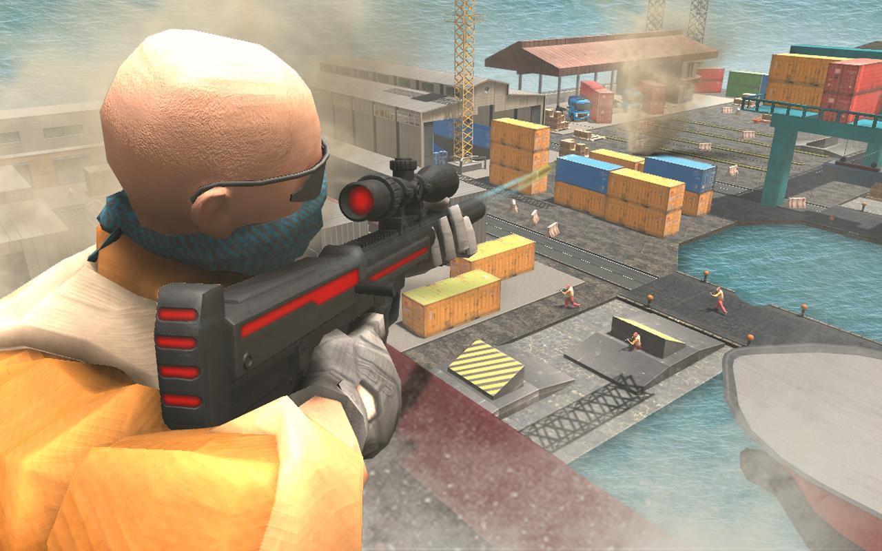狙击手射击枪战争