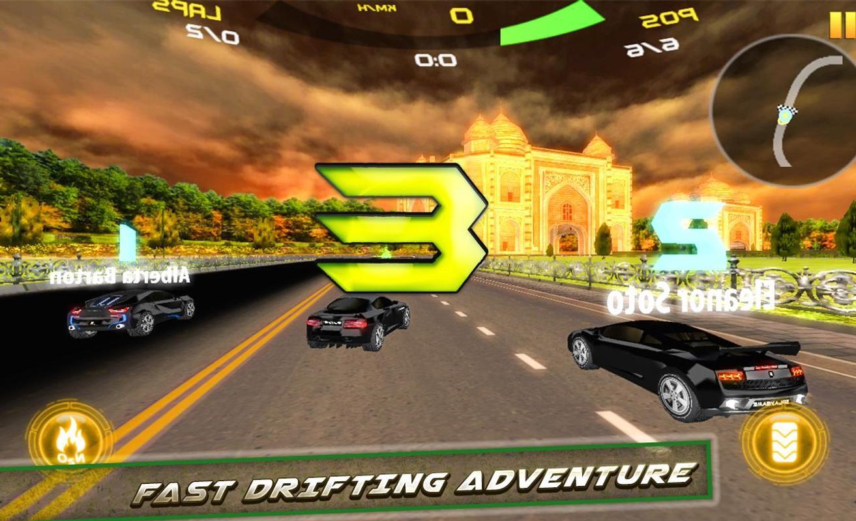 现代真实赛车手漂移3D