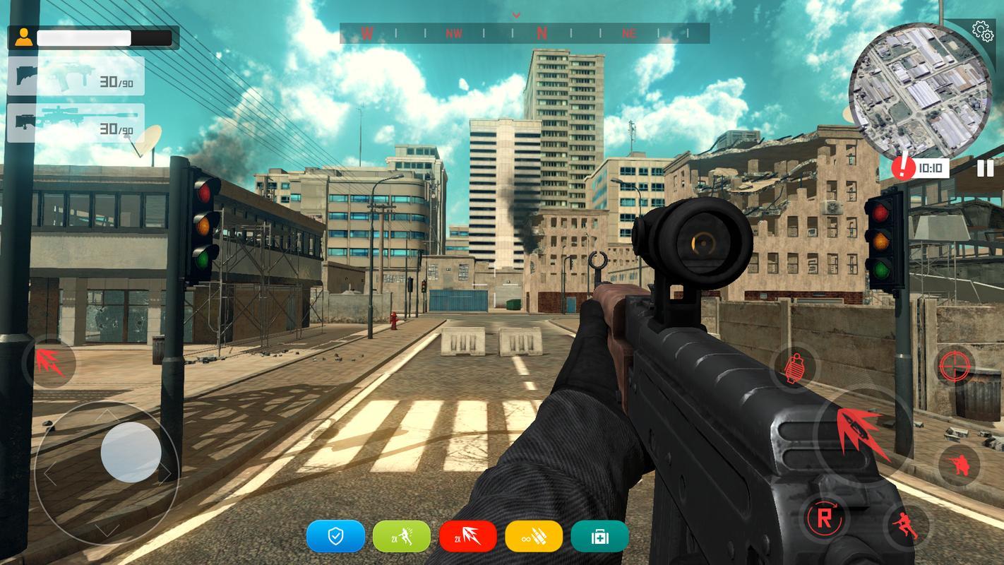 枪战破坏游戏截图