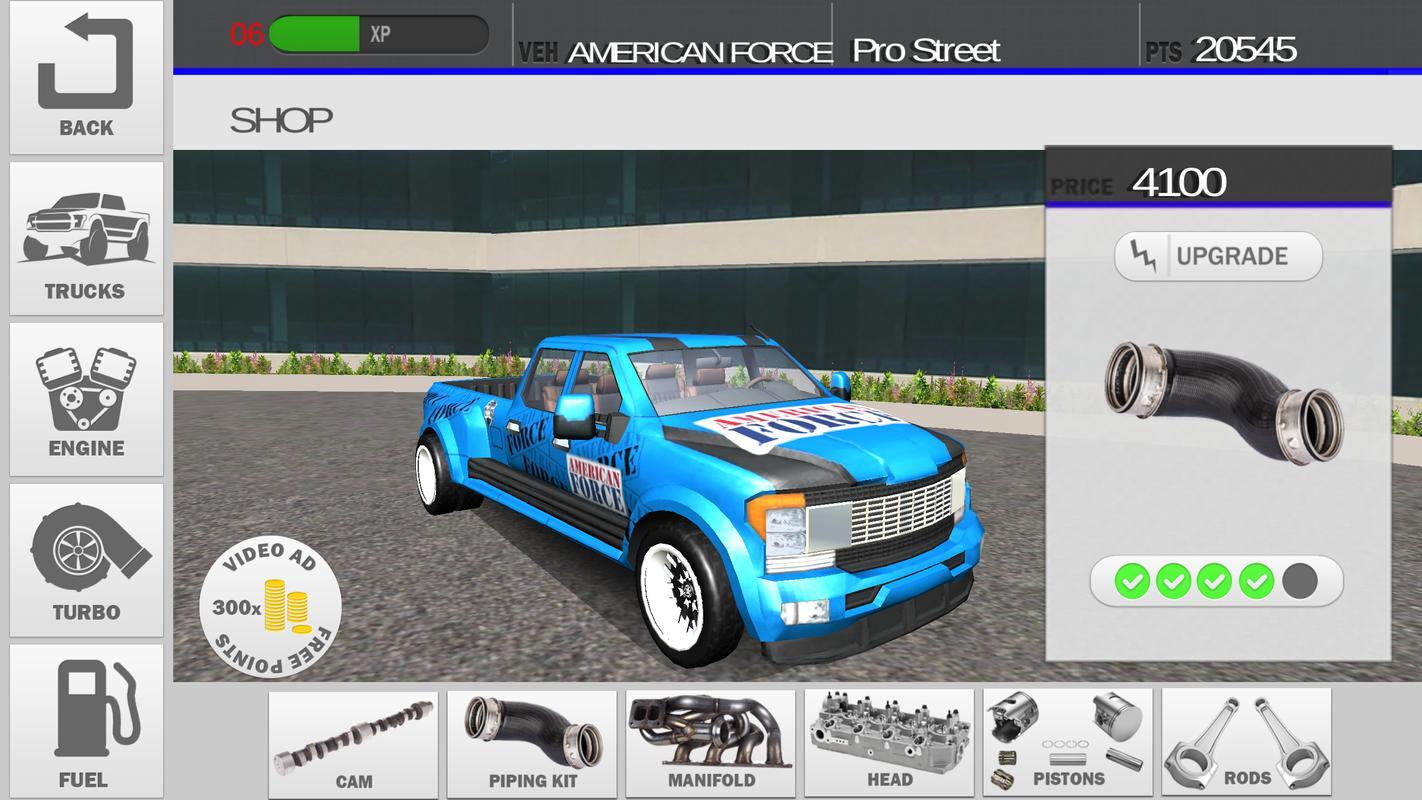 柴油赛车游戏截图