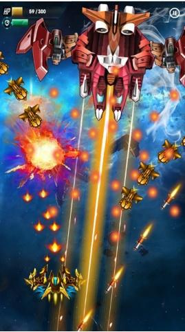 银河攻击:太空射击