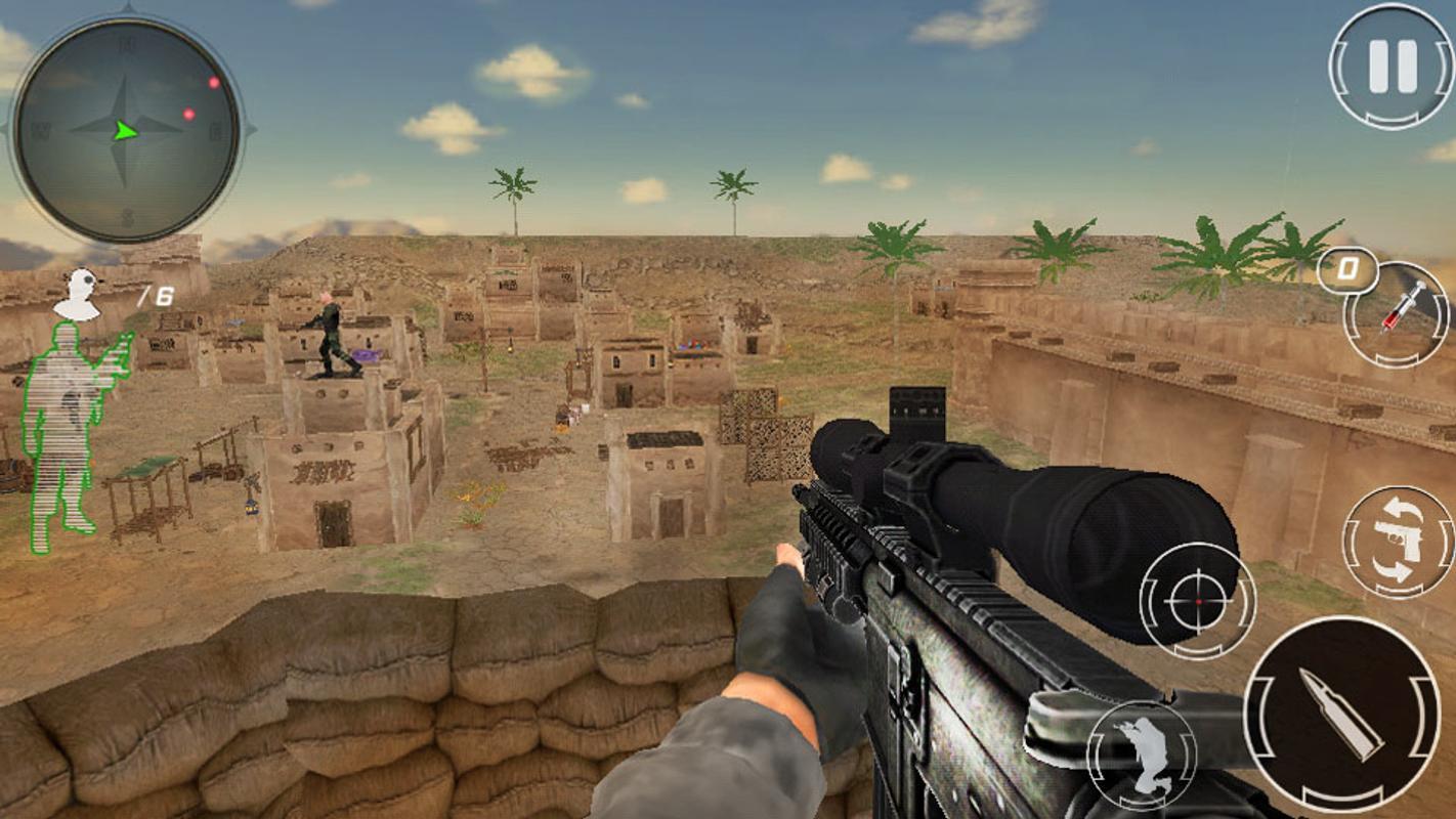 狙击手女突击队员