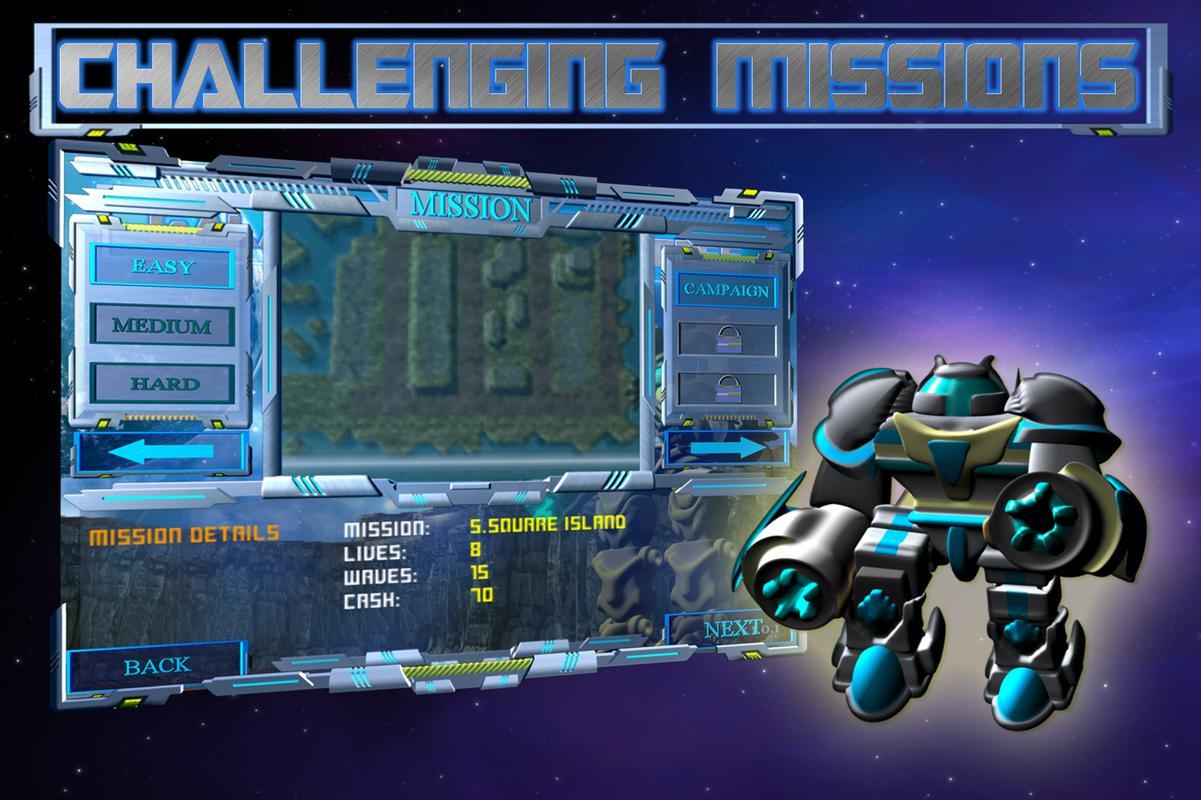 银河机器人防御