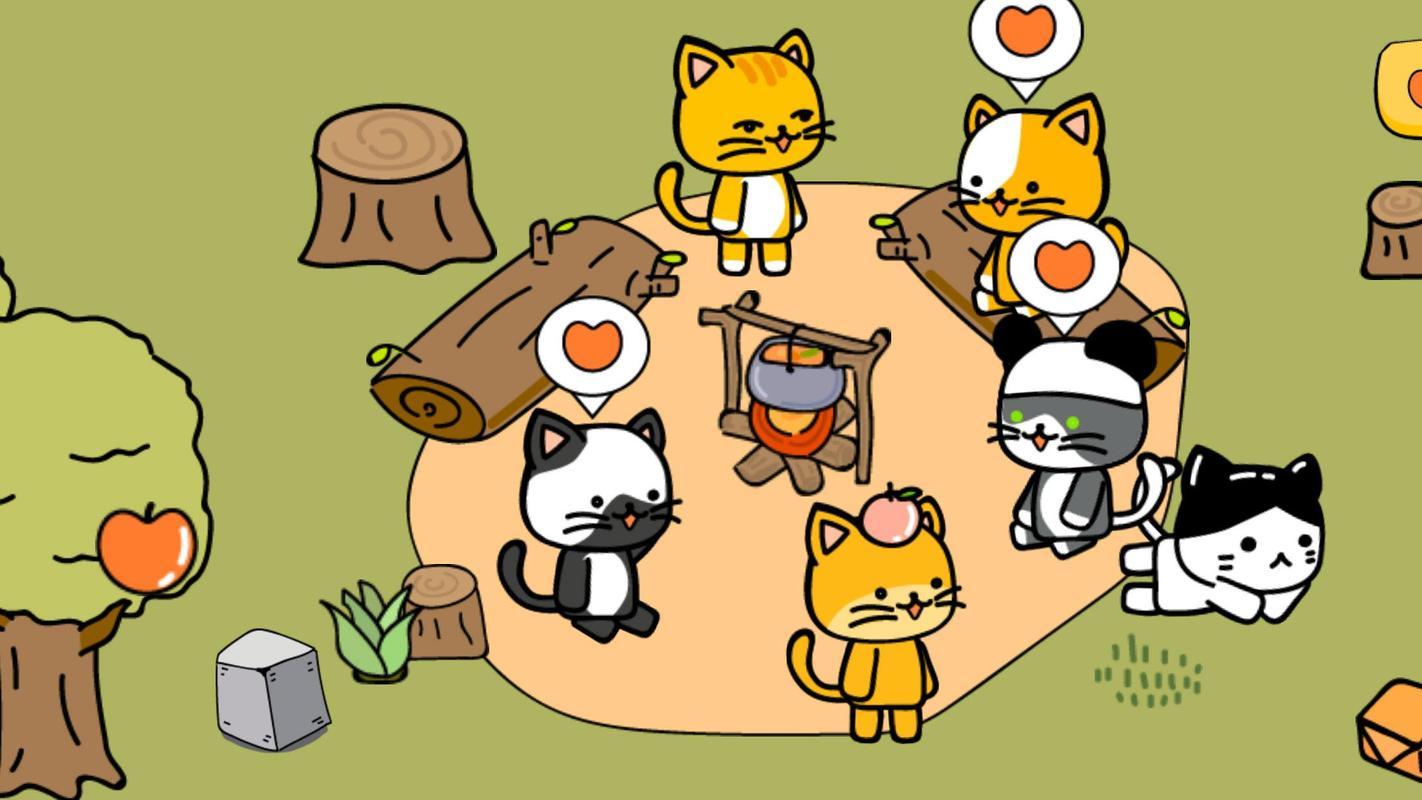 猫咪营地游戏截图