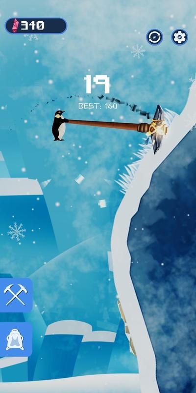 翻越积雪游戏截图