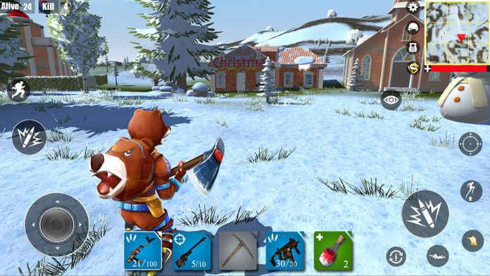 堡垒战场游戏截图