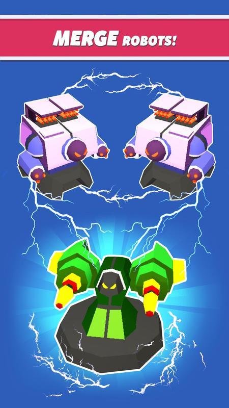 合成塔防机器人