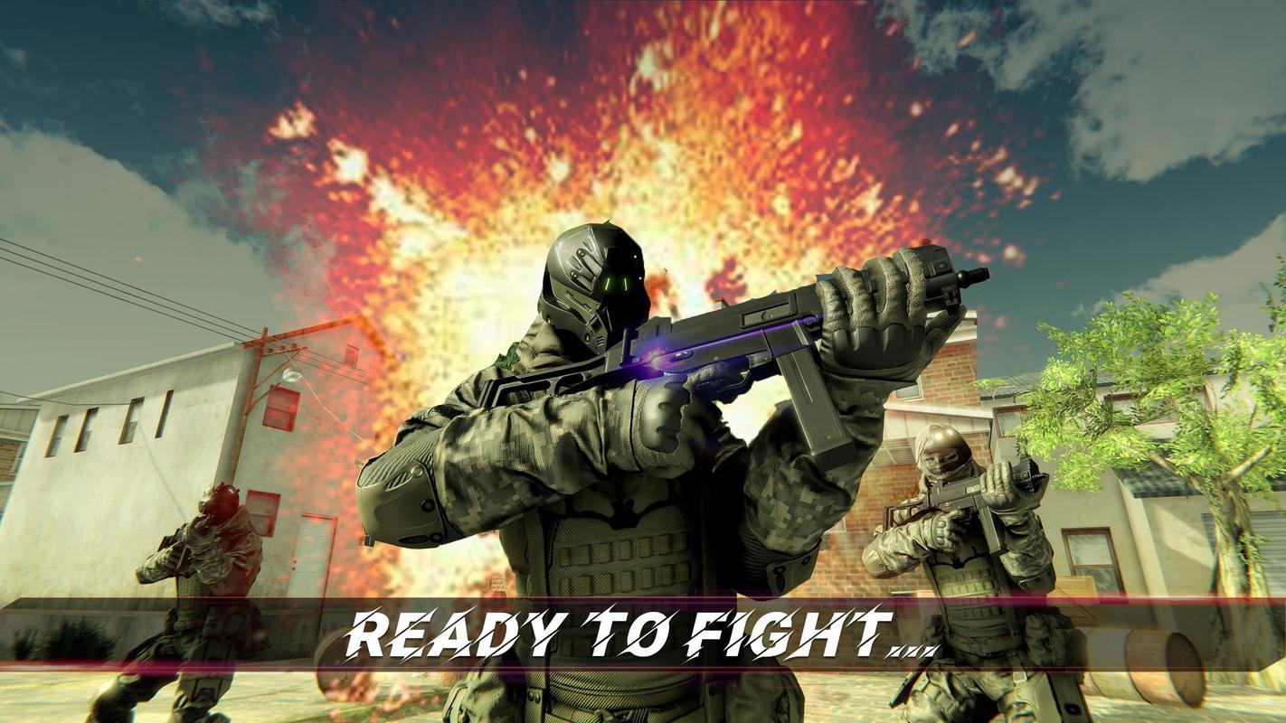 美国陆军特种部队反击