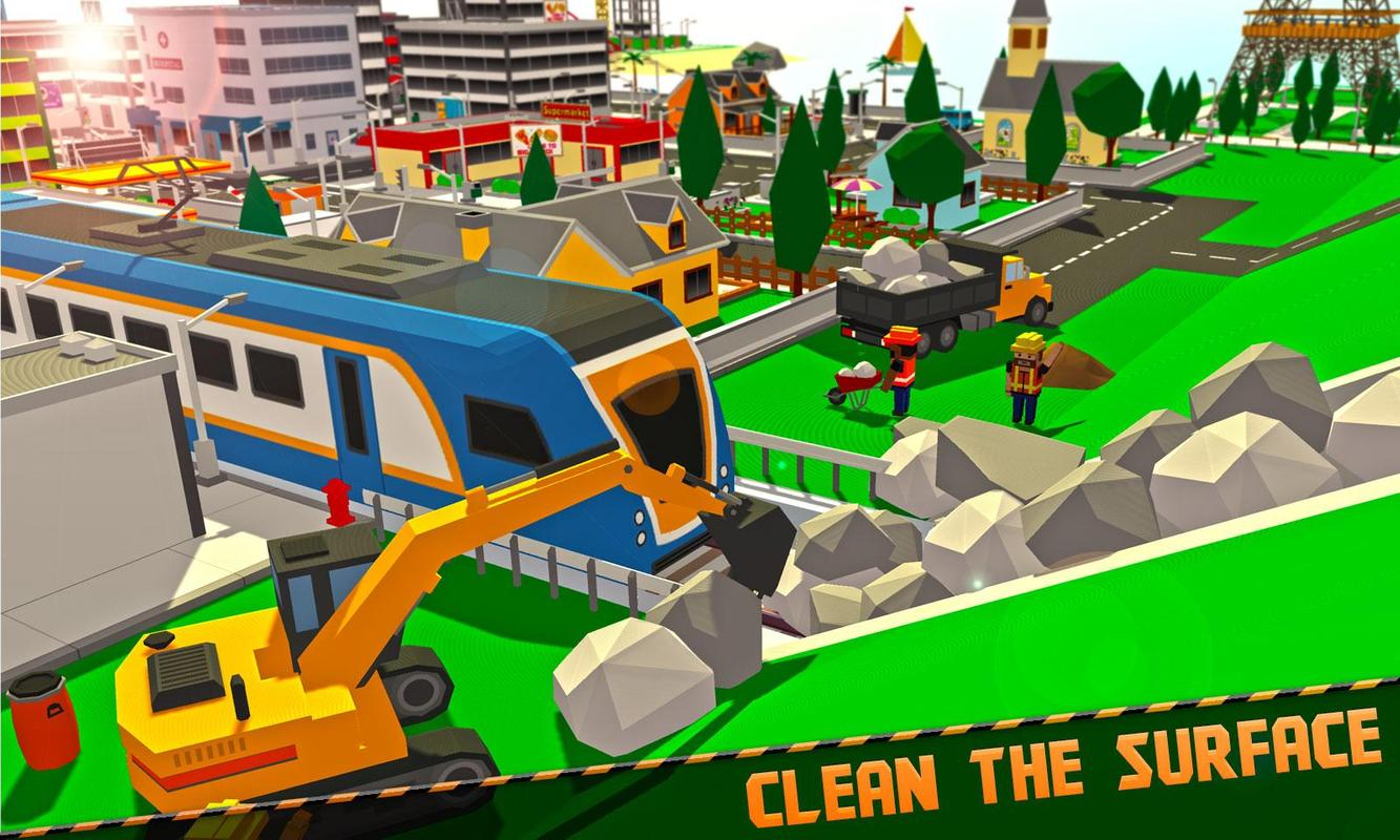 城市地铁搭建