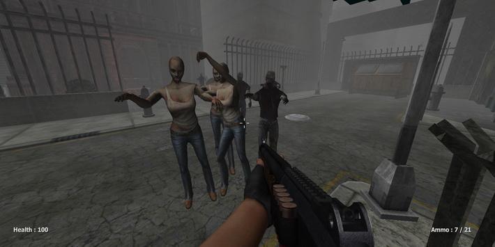 僵尸之日:枪战