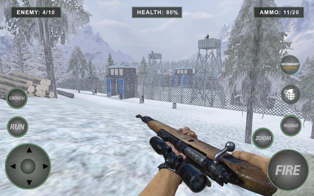 狙击地带:二战