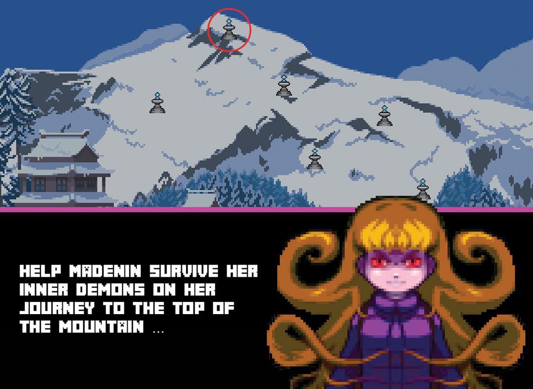 天蓝:勇敢的登山者