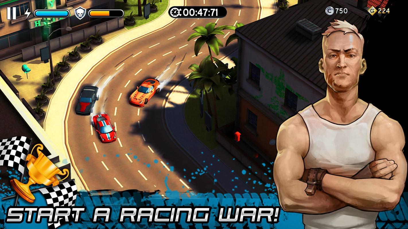 竞速战争游戏截图