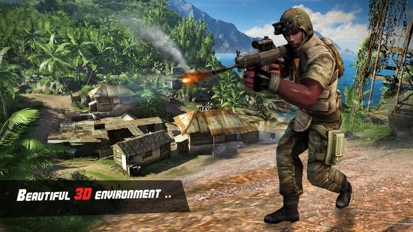 突击队冒险3D游戏