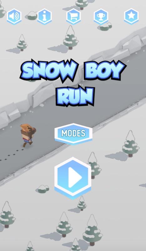雪男孩快跑