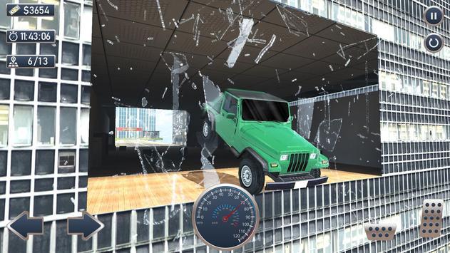 屋顶特技SUV赛车