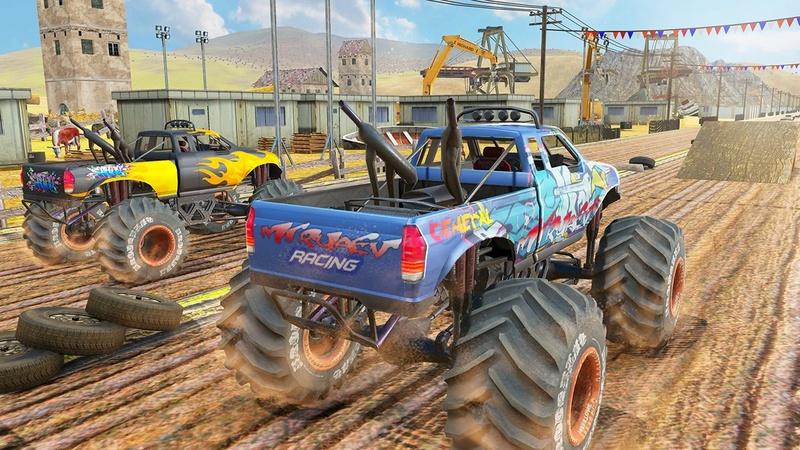 怪物卡车游戏截图
