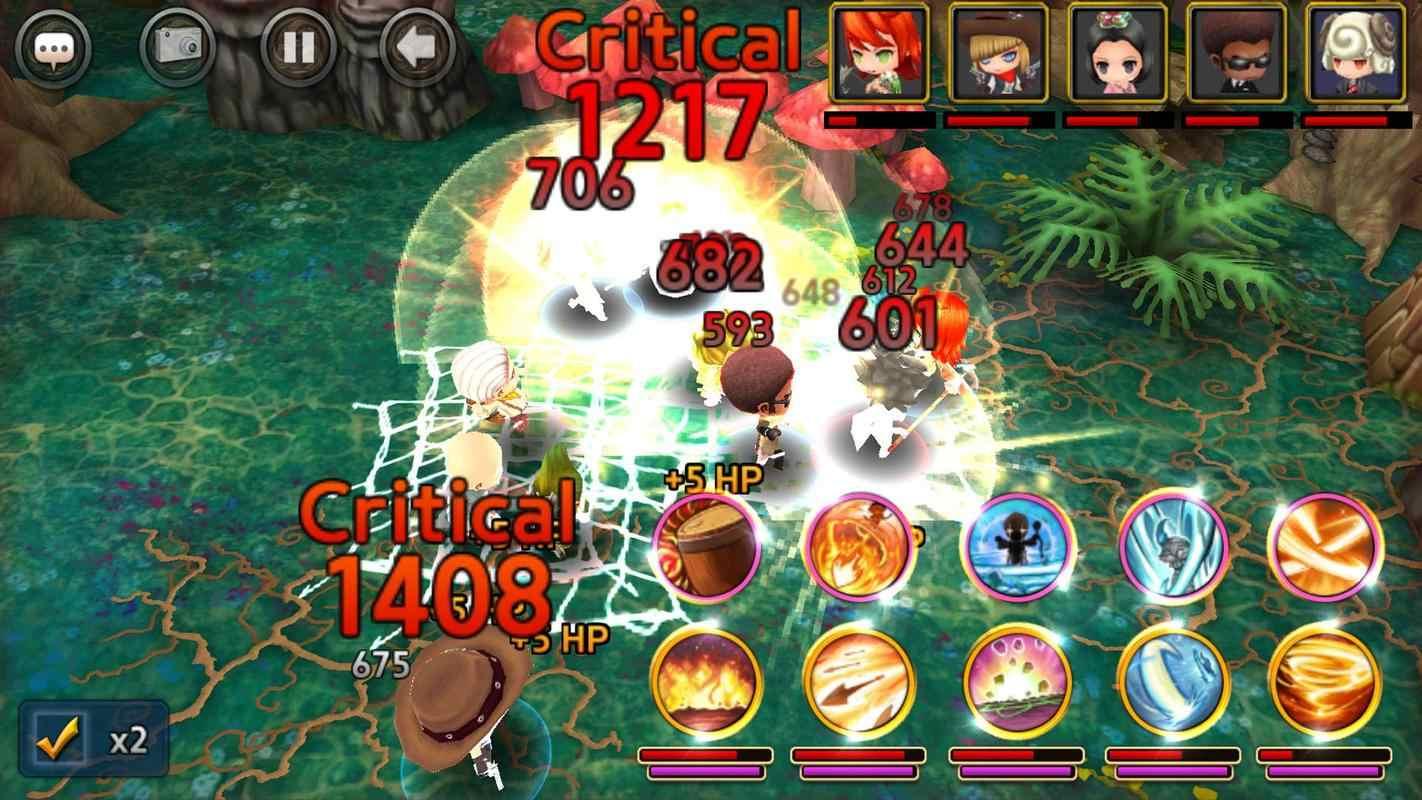 战斗队游戏截图2