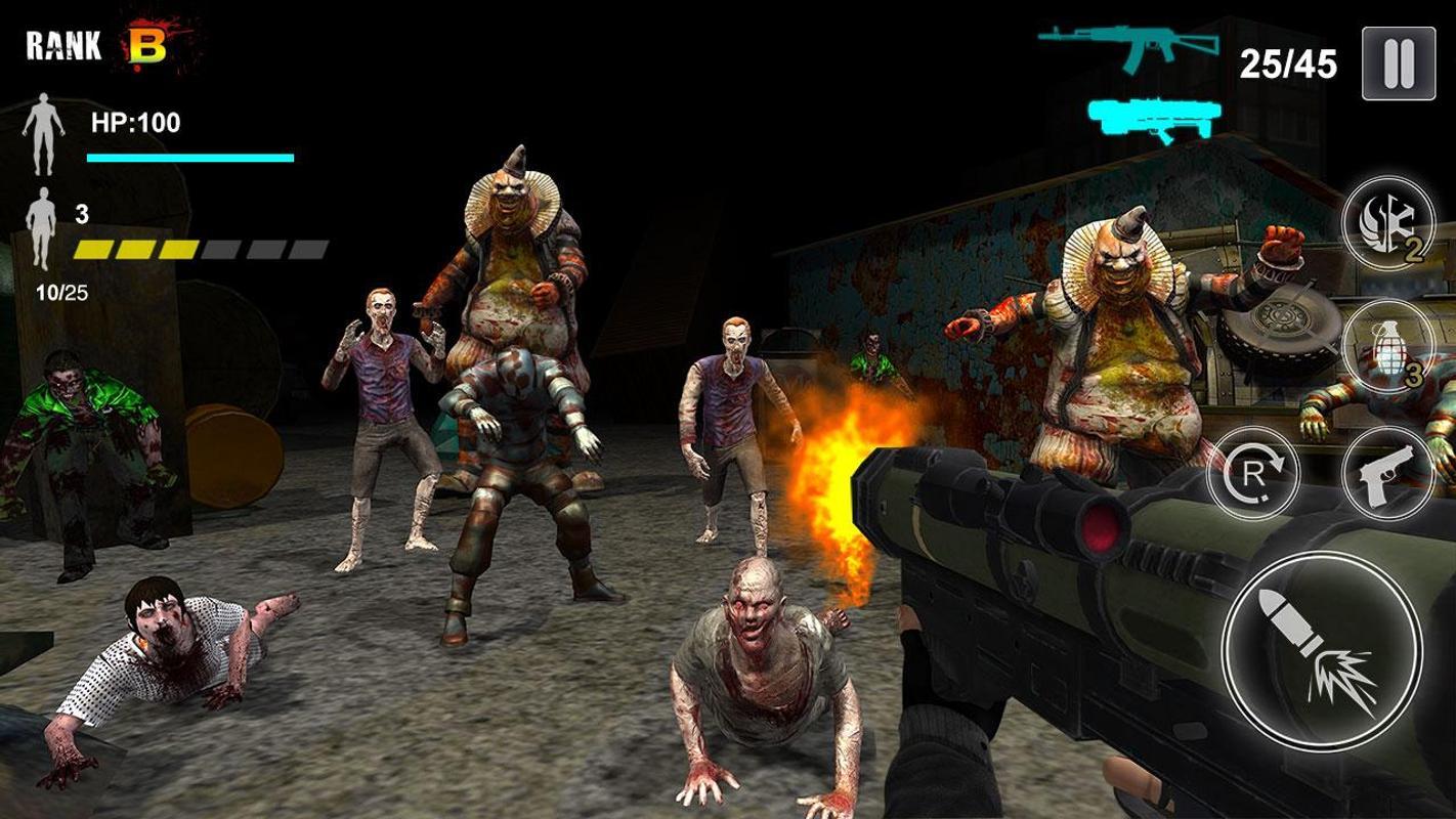 僵尸射手:生存游戏