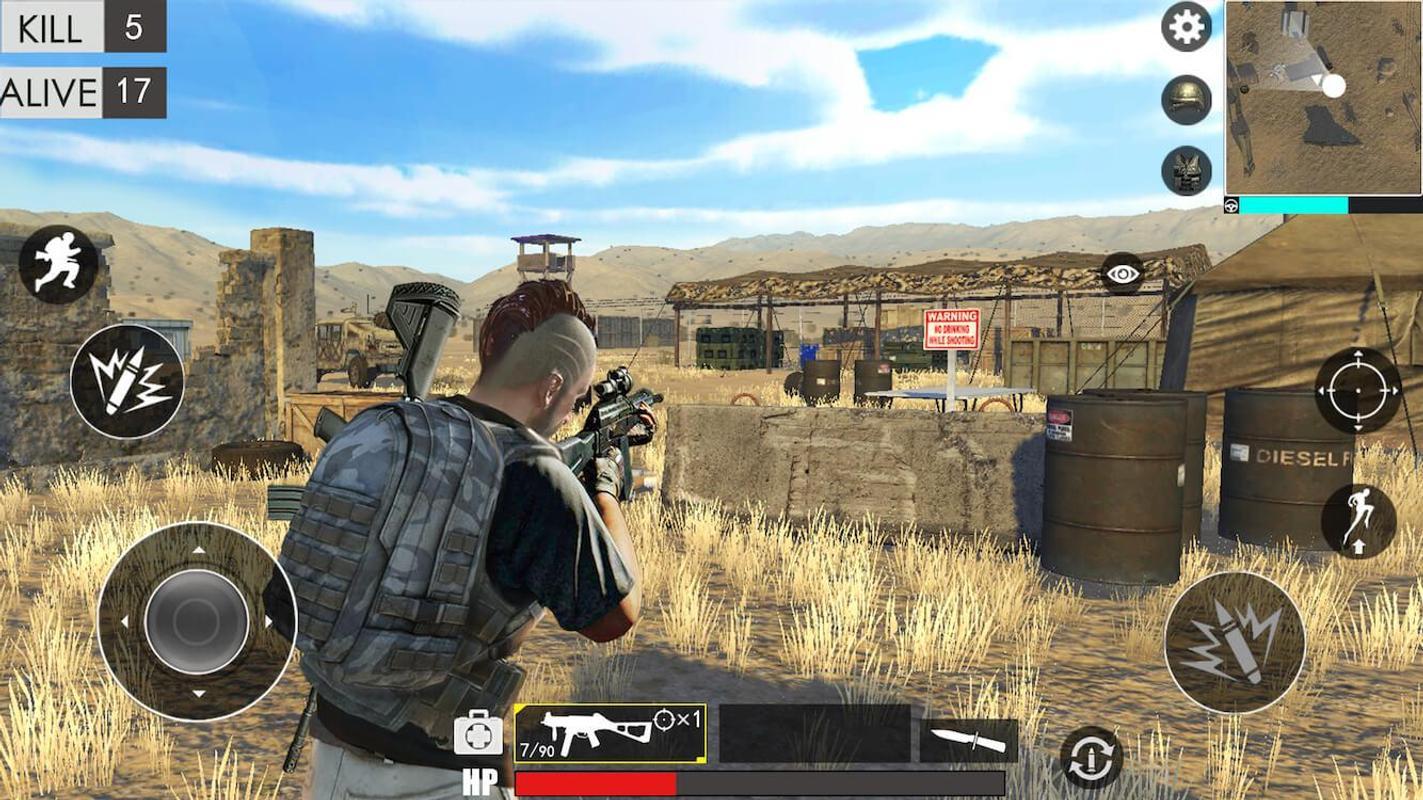 沙漠生存射击