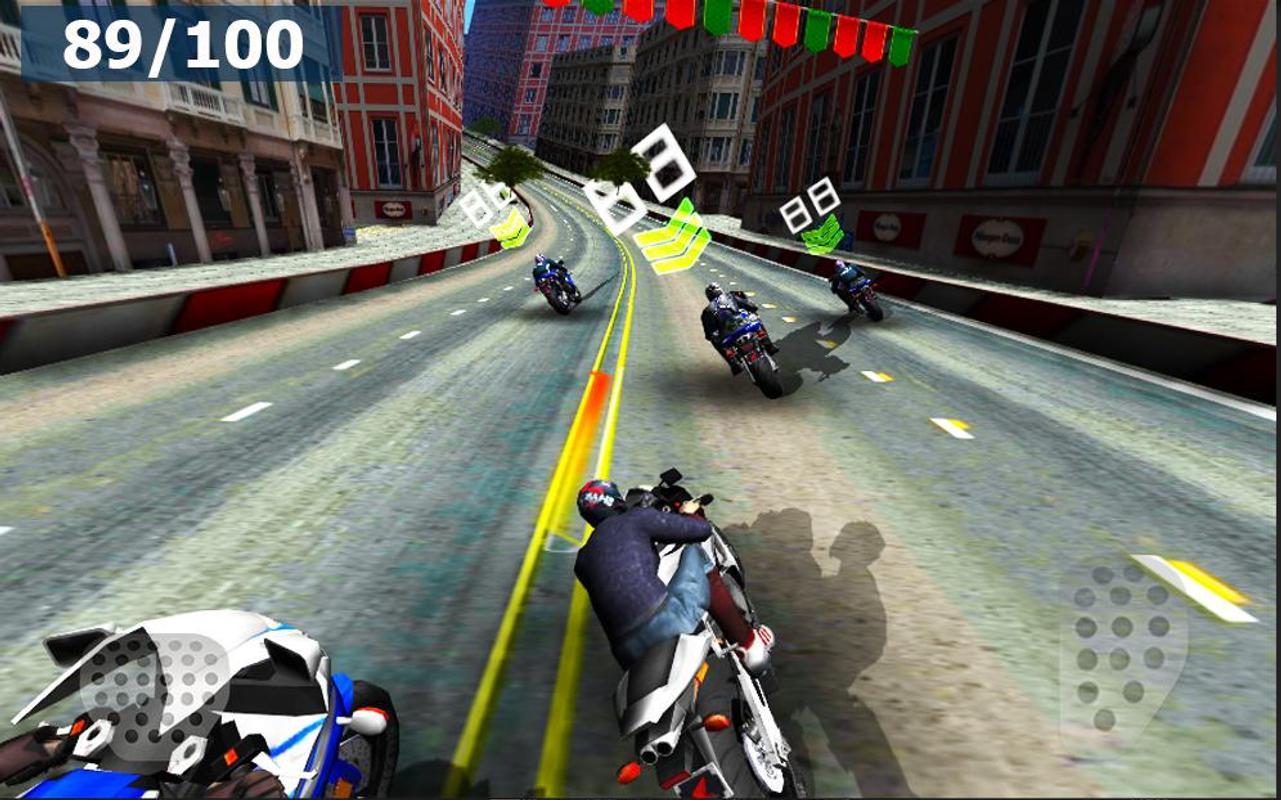 高速摩托赛