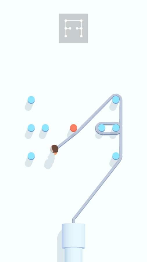 绕柱游戏截图