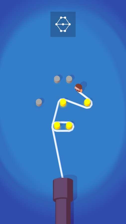 绕柱游戏截图1