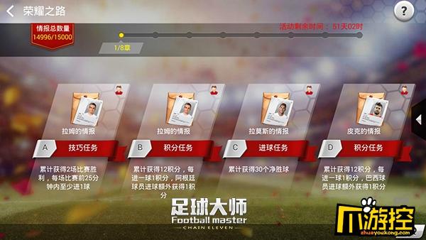 黄金一代《足球大师》新版来袭,荣耀之路开启