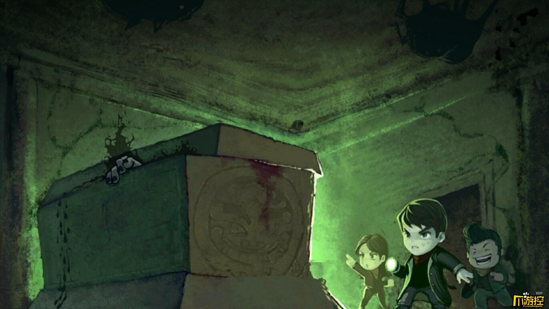 新动盗墓系列再出新作 神秘新游《命运罗盘》生存狂虐?