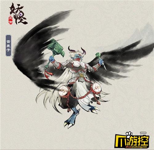 水墨技法绘民间传说《妖怪正传》仙妖角色图曝光